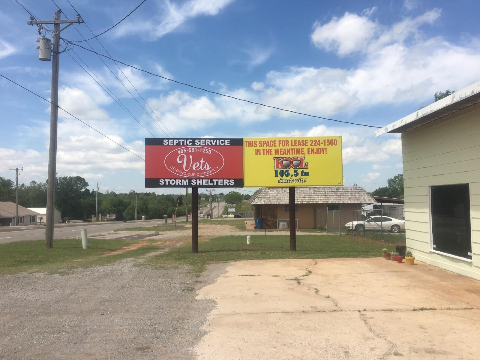 Side-by-side billboard