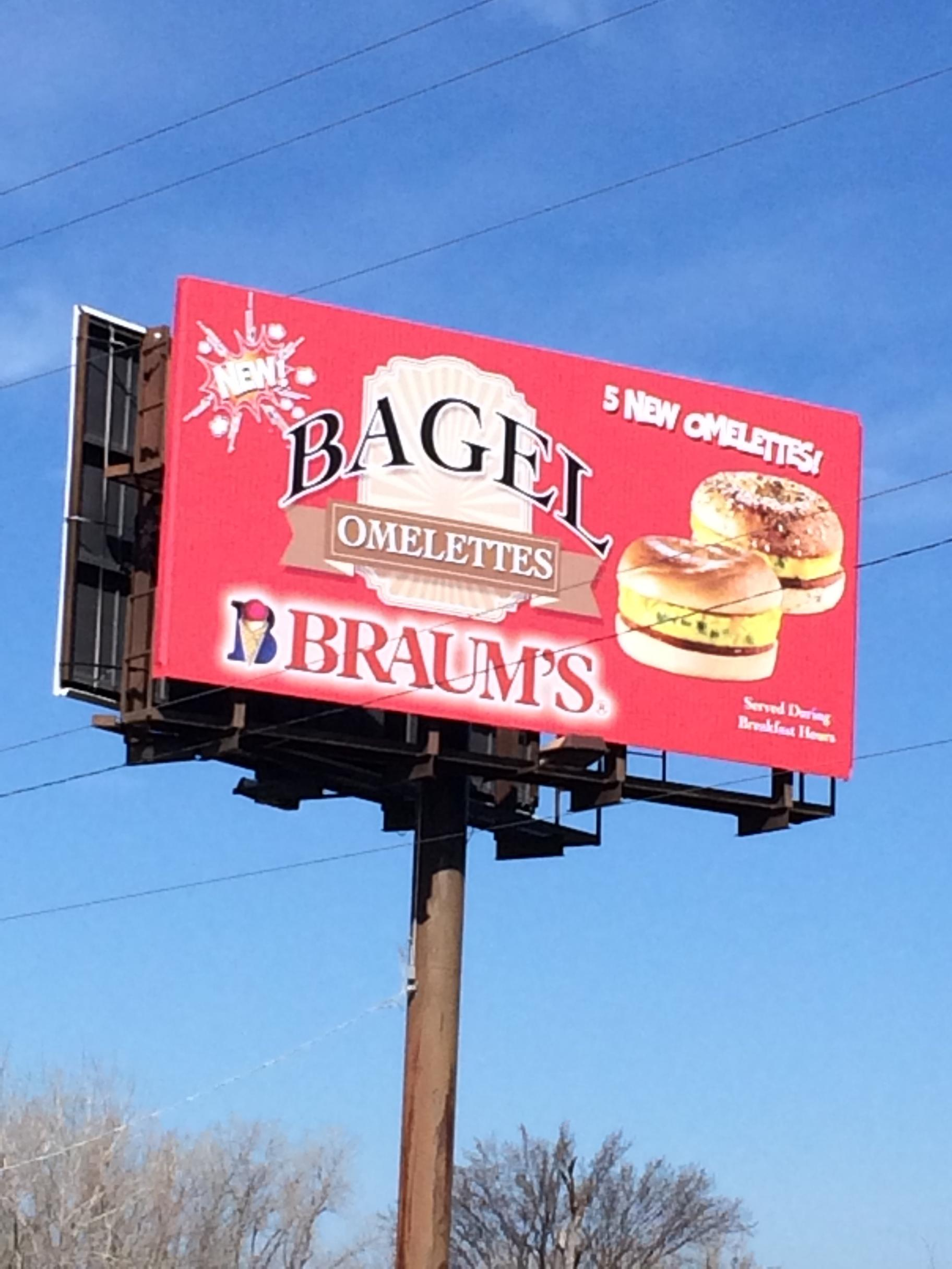 Bagel Billboard